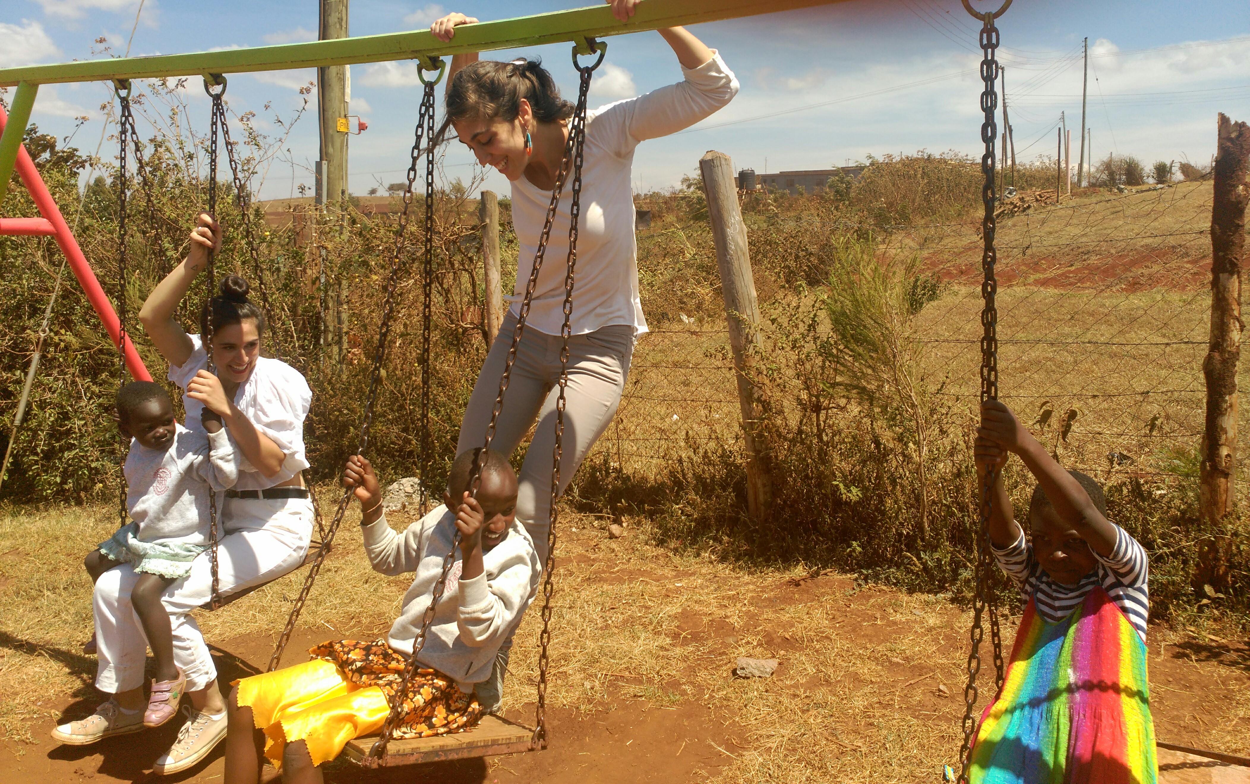 Voluntaria en Centro Formativo Nin?as en Kenia